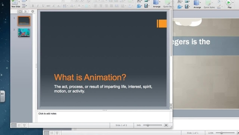 Thumbnail for entry What is Animation-Next Steps on our CST Animation