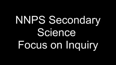 Thumbnail for entry NNPS_Sept_Focus_on_Inquiry