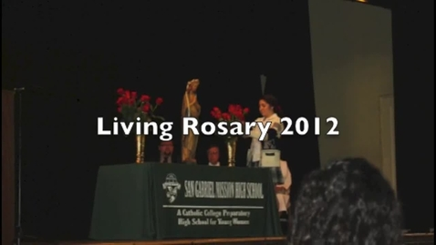 Thumbnail for entry Living Rosary 2012