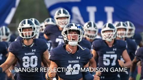 Thumbnail for entry Ranger Reflection - Madison Game