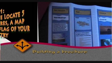 Thumbnail for entry How to build a brochure