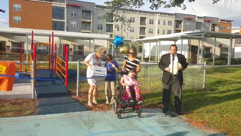 Thumbnail for entry Playground dedication 10/1/15