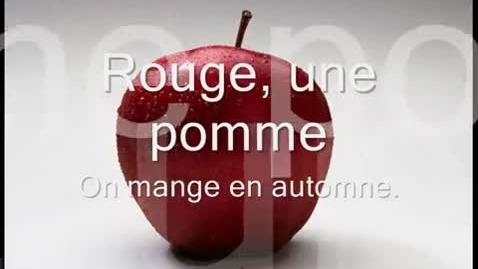 Thumbnail for entry Les Couleurs en Français