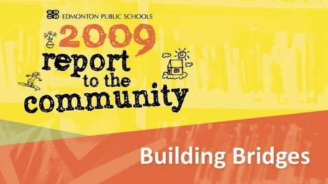Thumbnail for entry Building Bridges