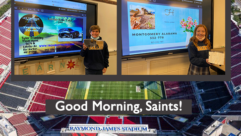 Thumbnail for entry Saints @ 8 - January 25, 2021