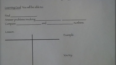 Thumbnail for entry 8-3 Finding multiples and square roots