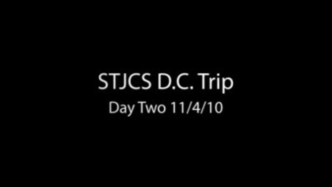Thumbnail for entry STJCS DC Trip Day 2