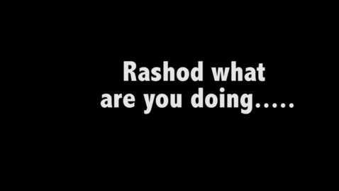Thumbnail for entry Rashod's WHO ARE YOU PROJECT