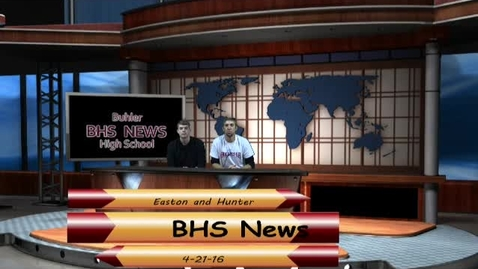 Thumbnail for entry BHS News April 21st