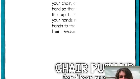 Thumbnail for entry Chair or Floor Push Up