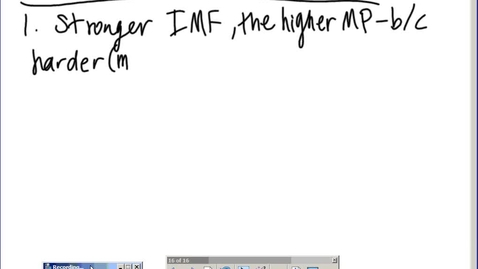 Thumbnail for entry Stephens AP Chemistry: (9-15-14) IMF lab discussion