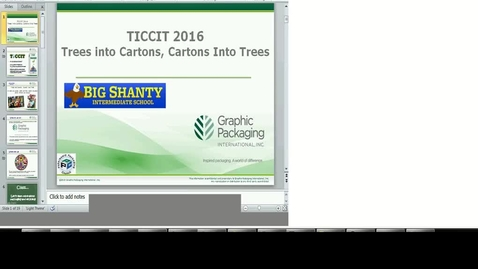 Thumbnail for entry Earth Day: Trees into Cartons, Cartons into Trees