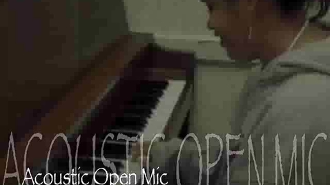 Thumbnail for entry Mount Vernon & Janet's Java Open Mic Commercial