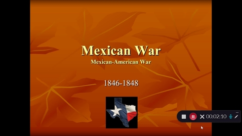 "Thumbnail for entry ""Mexican War SchoolTube Video"""