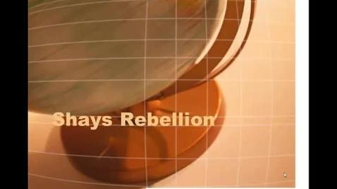 Thumbnail for entry Shays Rebellion