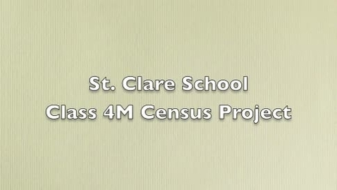 Thumbnail for entry Behind the Scenes - Our Census Project