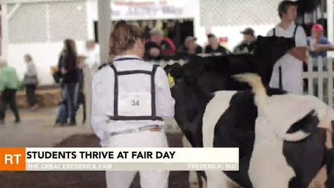 Thumbnail for entry Students thrive at fair day