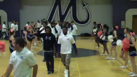 Thumbnail for entry MHS Pep Rally 10-18-13