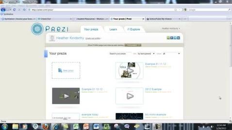 Thumbnail for entry Prezi Advanced