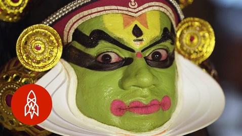 Thumbnail for entry Eye Dancing and India's Ancient Art of Kathakali