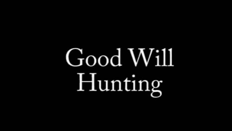 Thumbnail for entry Good Will Hunting