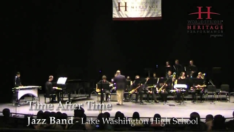Thumbnail for entry LWHS Jazz Band: Time After Time