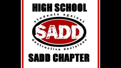 Thumbnail for entry Old Bridge high school SADD
