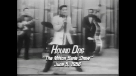 Thumbnail for entry Elvis Presley - Hound Dog (Live)