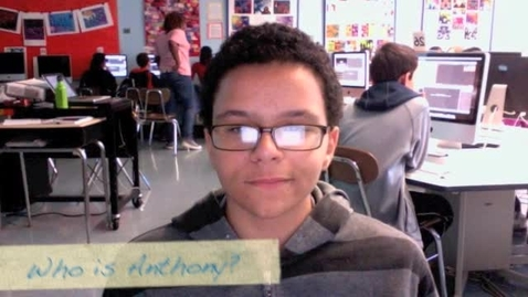 Thumbnail for entry Anthony Chatman III Autobiographie