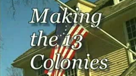 Thumbnail for entry The New England Colonies