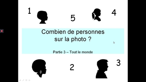 Thumbnail for entry Combien personnes photo - Enfants et adultes