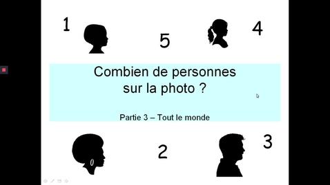 Thumbnail for entry Combien personnes photo - Enfants et adultes