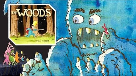 Thumbnail for entry Read Aloud : The Woods by Paul Hoppe  - story time any time - children's books read aloud animated