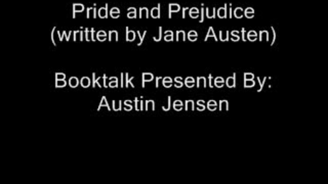 Thumbnail for entry Pride and Prejudice