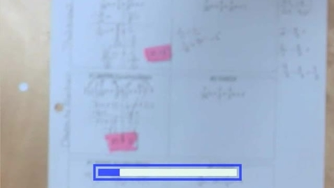 Thumbnail for entry 7.2b Solving Equations with Rational Numbers - Decimals