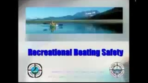 Thumbnail for entry Recreational Boating Safety