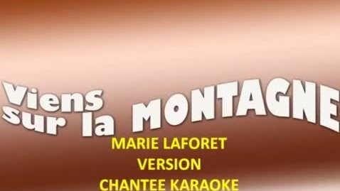 Thumbnail for entry Viens sur la montagne