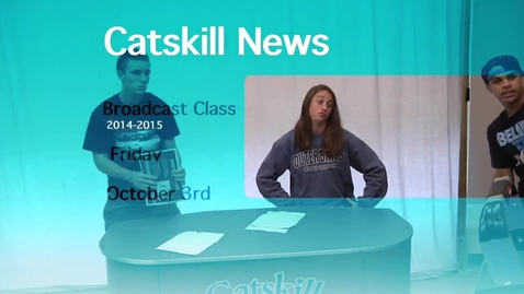 Thumbnail for entry Catskill News 10.3.14