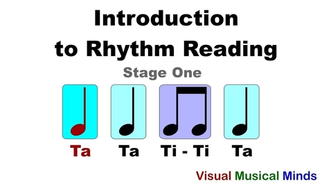 Thumbnail for entry Introduction to Rhythm Reading: Stage One