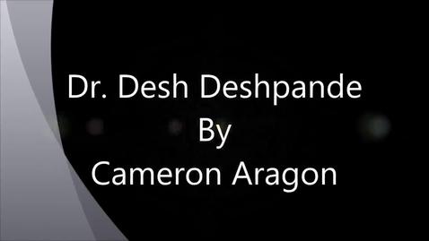 Thumbnail for entry Dr. Desh Deshpande - Engineer