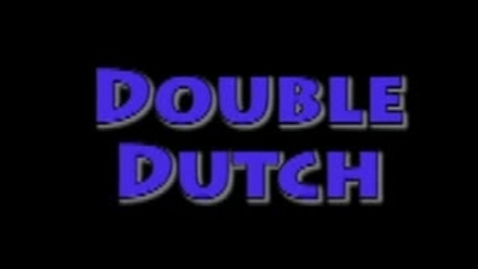 Thumbnail for entry Double Dutch!