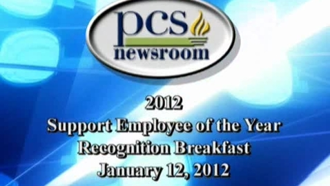 Thumbnail for entry 2012 Support Employee of the Year Breakfast