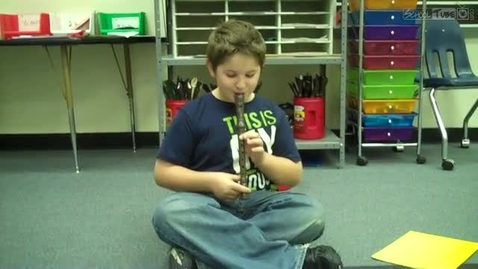 Thumbnail for entry JT recorder solo, 2011, Dabbs Elementary
