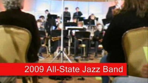 Thumbnail for entry 2009 All-State Jazz Band (4) - Gabe Medd Feature