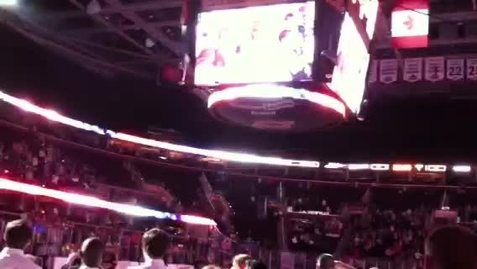 Thumbnail for entry National Anthem - Lake Erie Monsters (P2)