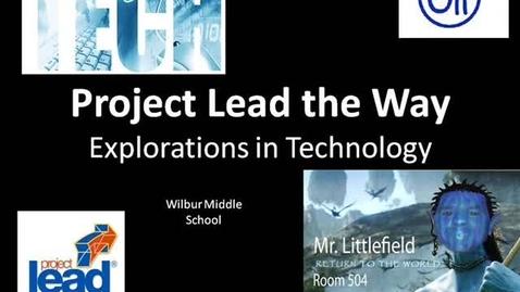 Thumbnail for entry Wilbur MS Tech Program - Mr. L