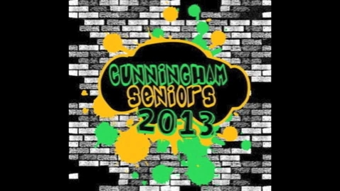 Thumbnail for entry Class of 2013 Spirit Wear
