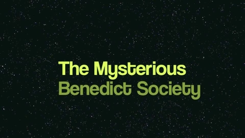 Thumbnail for entry Mysterious Benedict Society Book Trailer