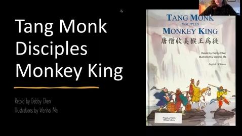 Thumbnail for entry Tang Monk Disciples Monkey King - read aloud