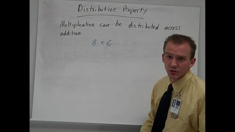 Thumbnail for entry Distributive Property with game